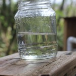 Water from filter 4 April 14, 2013
